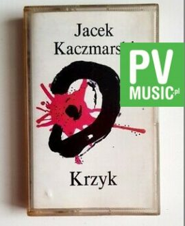 JACEK KACZMARSKI KRZYK audio cassette