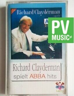 RICHARD CLAYDERMAN ABBA HITS audio cassette