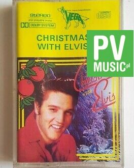 ELVIS PRESLEY CHRISTMAS WITH ELVIS audio cassette