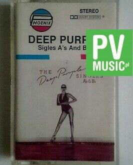 DEEP PURPLE  SINGLES A's AND B's   audio cassette