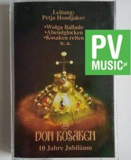 DON KOSAKEN 10 JAHRE JUBILAUM  audio cassette