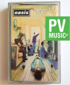 OASIS DEFINITELY MAYBE audio cassette