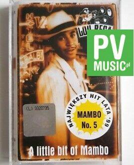 LOU BEGA A LITTLE BIT OF MAMBO audio cassette