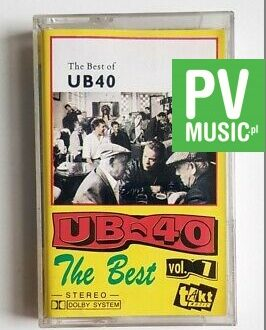 UB40 THE BEST OF vol.1 audio cassette
