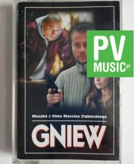 GNIEW SOUNDTRACK audio cassette
