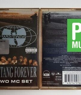 WU-TANG FOREVER TWO MC SET audio cassettes