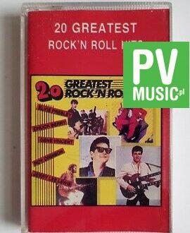 20 GREATEST ROCK'N ROLL E.PRESLEY, C.RICHARD.. audio cassette