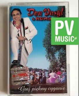 DON VASYL & ROMA GRAJ PIĘKNY CYGANIE audio cassette