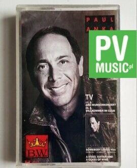 PAUL ANKA GOLDEN HITS audio cassette