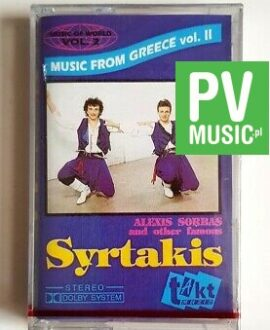 SYRTAKIS MUSIC FROM GREECE audio cassette