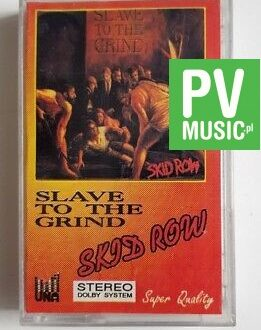 SKID ROW - SLAVE TO THE GRIND audio cassette