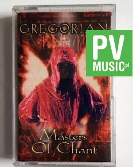 GREGORIAN MASTERS OF CHANT audio cassette