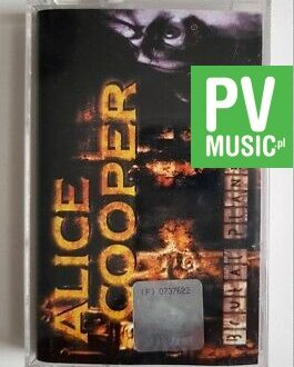 ALICE COOPER BRUTAL PLANET audio cassette