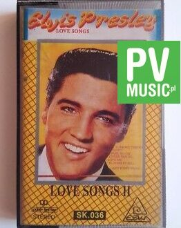 ELVIS PRESLEY LOVE SONGS II audio cassette