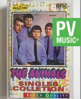 THE ANIMALS SINGLES COLLETION audio cassette
