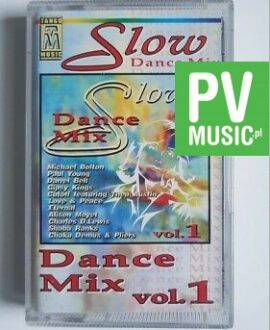 SLOW DANCE MIX M. BOLTON, P. YOUNG audio cassette