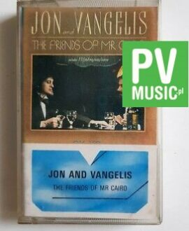 JON AND VANGELIS THE FRIENDS OF MR CAIRO audio cassette