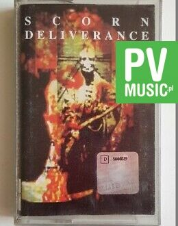 SCORN DELIVERANCE audio cassette