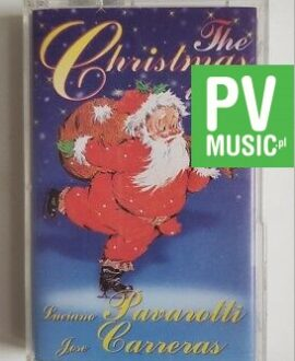 PAVAROTTI, CARRERAS CHRISTMAS WITH audio cassette