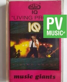 IQ LIVING PROOF audio cassette