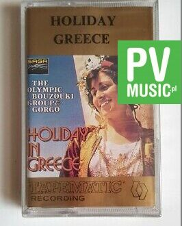 HOLIDAY GREECE HOLIDAY GREECE audio cassette