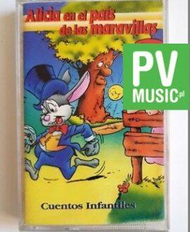 ALICIA EN EL PAIS DE LAS MARAVILLAS audio cassette