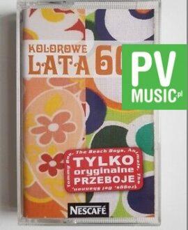 NESCAFE KOLOROWE LATA 60-te audio cassette
