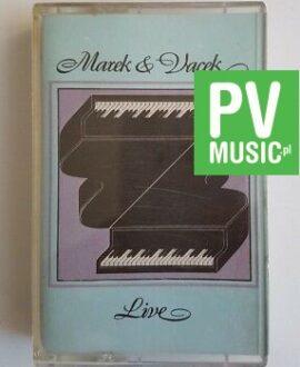 MAREK & VACEK LIVE audio cassette