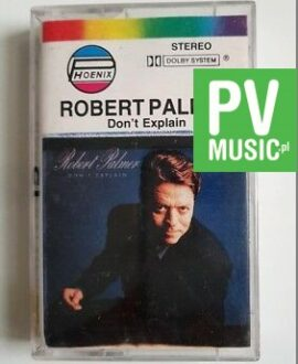 ROBERT PALMER DON'T EXPLAIN audio cassette