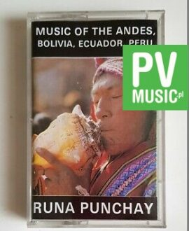 MUSIC OF THE ANDES BOLIVIA, ECUADOR, PERU audio cassette