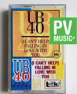 UB40 I CAN'T HELP FALLING IN LOVE WITH YOU audio cassette