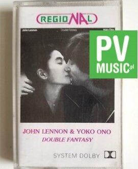 JOHN LENNON & YOKO ONO DOUBLE FANTASY audio cassette