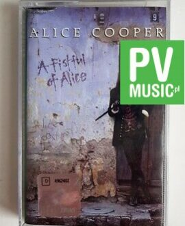 ALICE COOPER A FISTFUL OF ALICE audio cassette