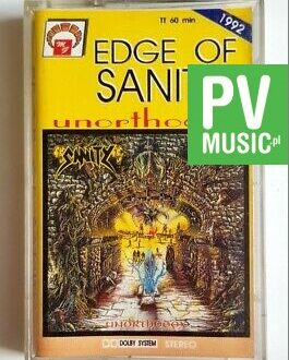 EDGE OF SANITY UNORTHODOX audio cassette