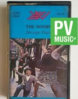 THE DOORS STRANGE DAYS audio cassette