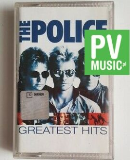 THE POLICE GREATEST HITS audio cassette