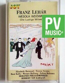 FRANZ LEHAR WESOŁA WDÓWKA audio cassette