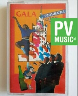 GALA PIOSENKI CHODNIKOWEJ 1 EX PROBLEM, DYSTANS.. audio cassette