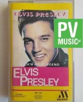 ELVIS PRESLEY ROCK'N ROLL LEGEND  audio cassette