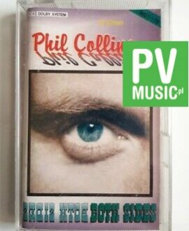 PHIL COLLINS BOTH SIDES audio cassette
