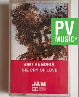 JIMY HENDRIX THE CRY OF LOVE audio cassette
