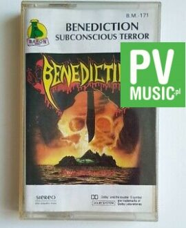 BENEDICTION SUBCONSCIOUS TERROR audio cassette