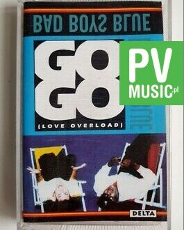 BAD BOYS BLUE LOVE OVERLOAD audio cassette