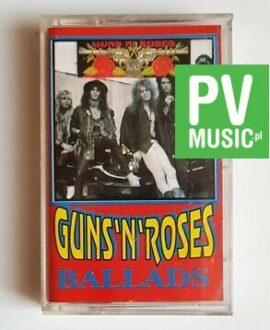GUNS'N'ROSES BALLADS audio cassette