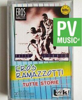 EROS RAMAZZOTTI TUTTE STORIE audio cassette