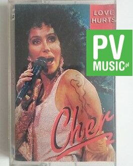 CHER  LOVE HURTS  audio cassette
