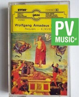WOLFGANG AMADEUS MOZART REQUIEM audio cassette
