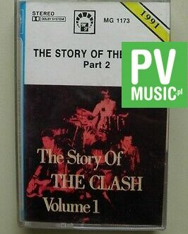 THE STORY OF THE CLASH  PART 2      audio cassette