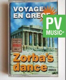 ZORBA'S DANCE VOYAGE EN GREECE audio cassette