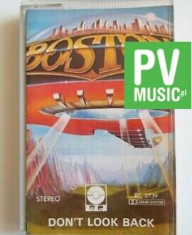 BOSTON DON'T LOOK BACK audio cassette